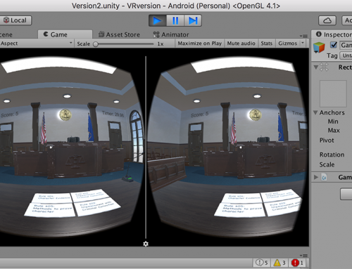 Teaching Law Students Evidence Rules through Virtual Reality(VR)